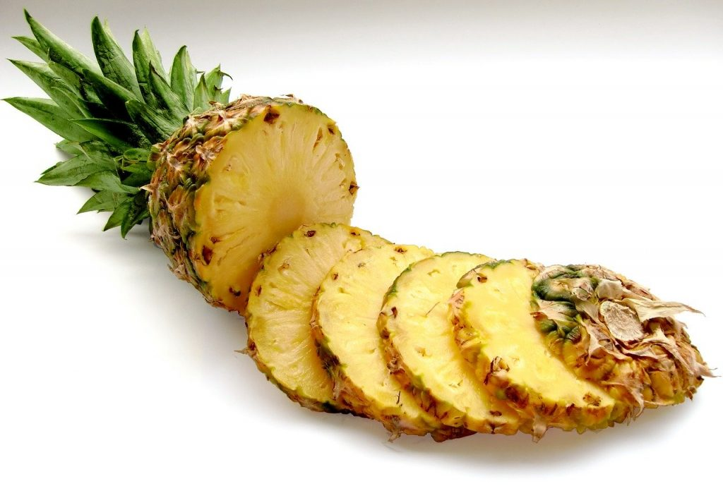 Pineapple Bromelain helps in reducing cough