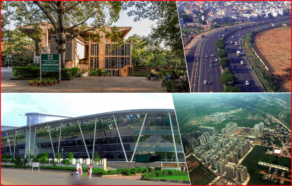 Chandigarh is one of the best Indian city to live and work
