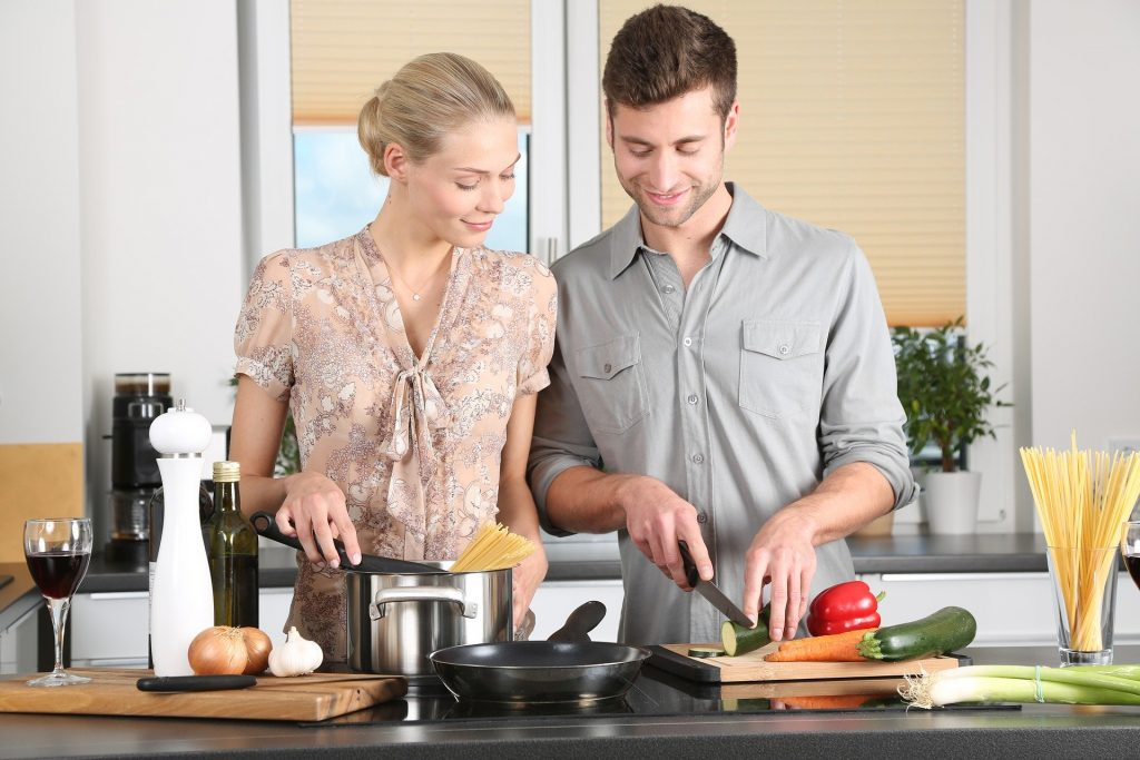 At times cook meals for her or help your wife in kitchen which will eventually make her happy