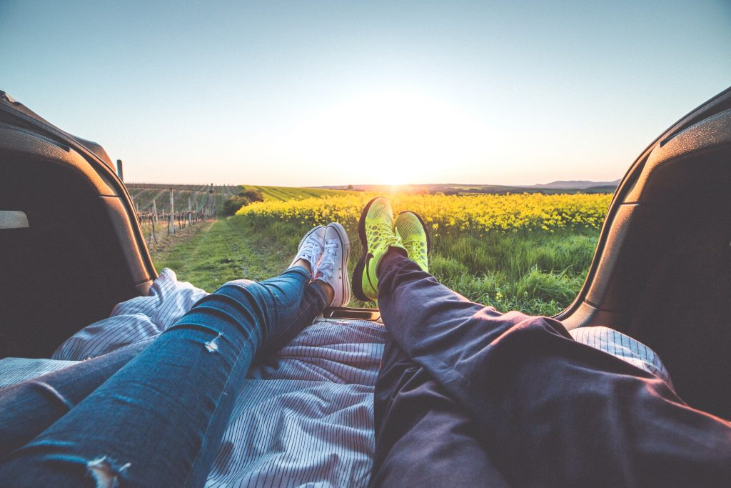 Go on Dates and Long Drives