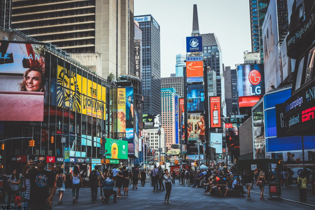 New York City is one of the most beautiful places in America