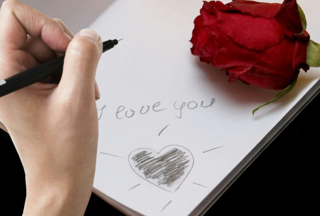 Write love notes for her