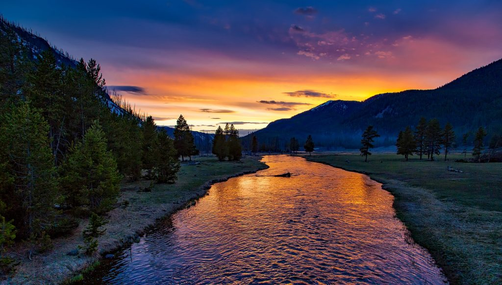 Yellowstone National Park is one of the best place to visit in USA